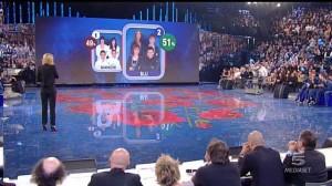 Foto vittoria dei blu con il 51%