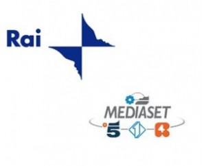 logho Rai e Mediaset