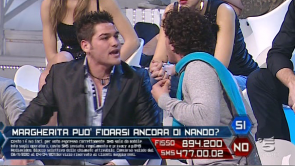 Foto discussione Nando e Pietro