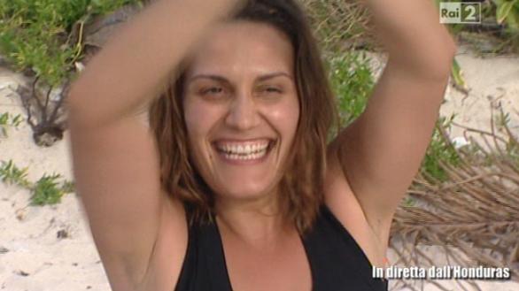 Roberta Allegretti concorrente non famosa dell'Isola