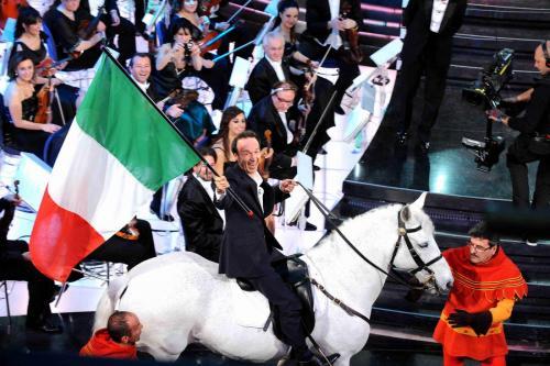 Roberto Benigni Sanremo 2011