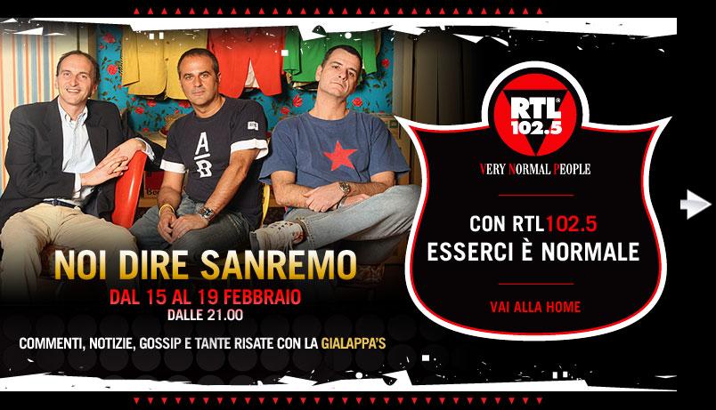 """""""Noi dire Sanremo"""" Gialappa's commenta il festiva di sanremo su rtl"""