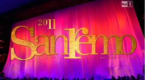 Foto sigla Sanremo 2011