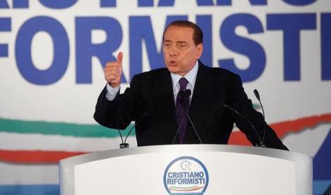 Berlusconi al Pulpito