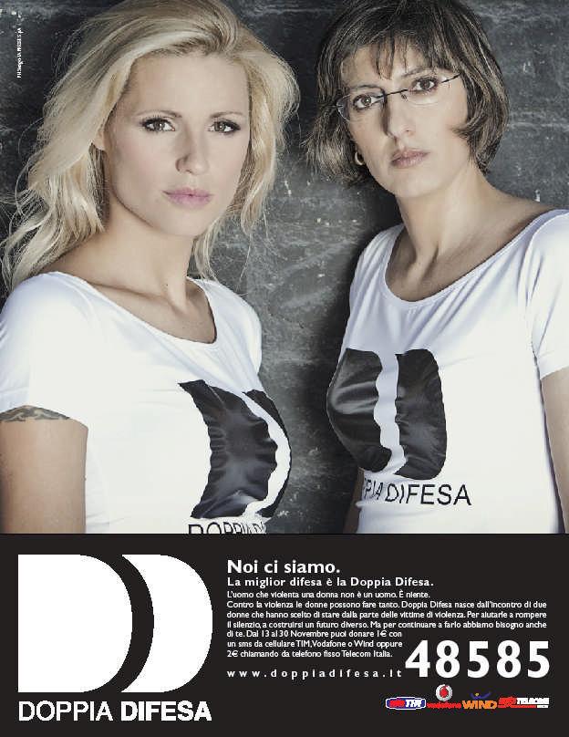 Michelle Hunziker e Bongiorno foto
