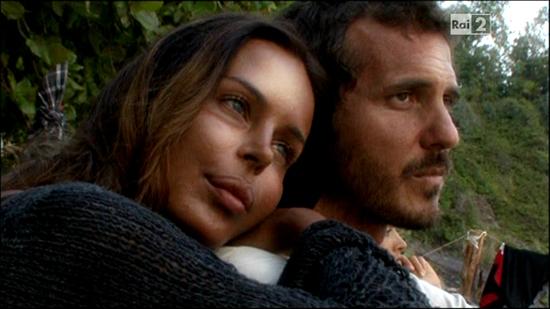 Laerte Pappalardo e Nina Moric Foto