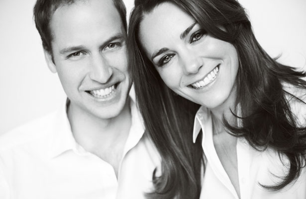 Foto del Principe William d'Inghilterra e Kate Middleton