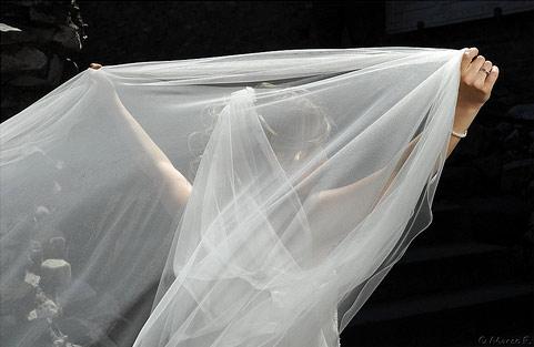 Il velo di Kate Foto
