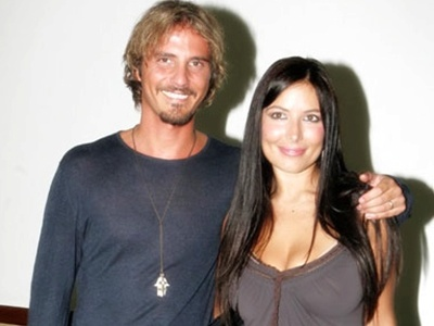 Foto di Laerte Pappalardo e Selvaggia Lucarelli quando erano sposati