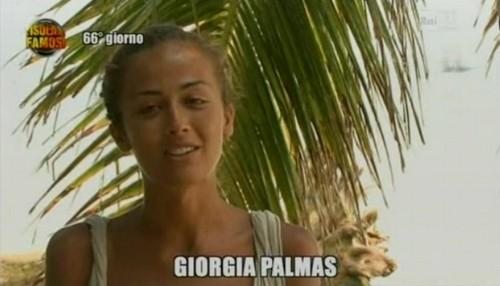 giorgia palmas vincitrice dell'isola dei famosi 8 Foto