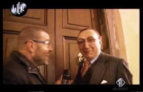 Le Iene intervista Pippo Baudo Italia1 Foto
