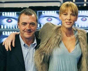 Massimo Donelli e Alessia Marcuzzi Grande Fratello Canale5 Foto