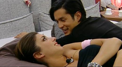 Foto di Margherita Zanatta e Andrea Cocco innamorati nella casa del Gf