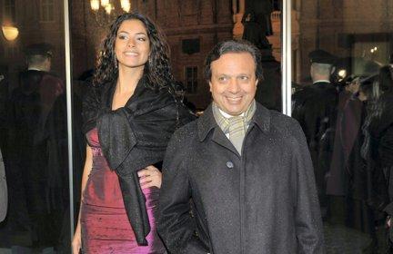 Foto di Piero Chiambretti e Federica Laviosa neo genitori