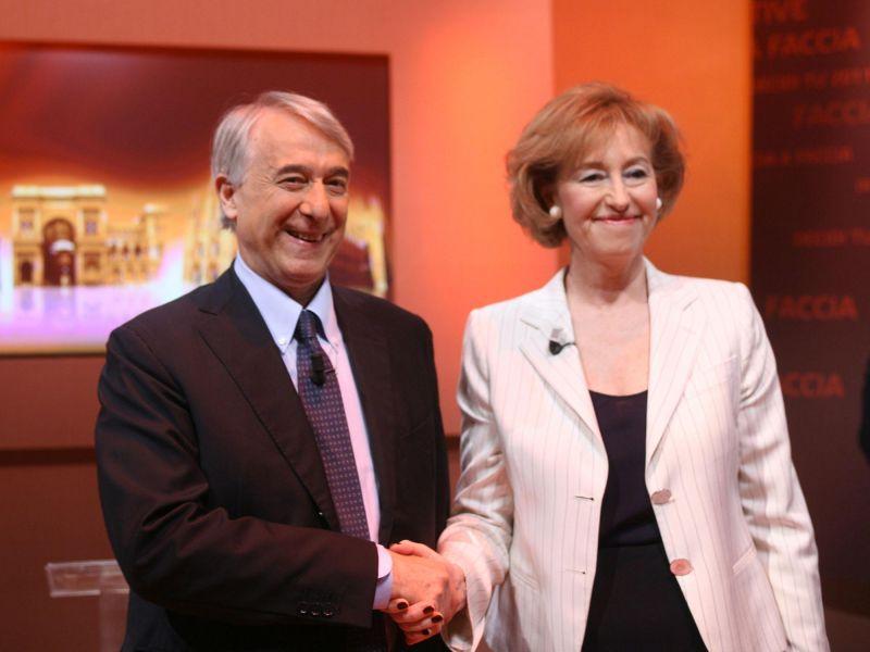 Pisapia e Moratti Milano Elezioni 2011