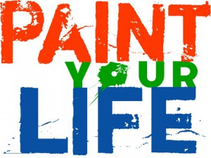 il logo di paint your life programma di real time