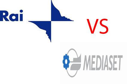 Foto di Rai contro Mediaset