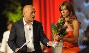 """Foto di Alfonso Signorini ed Elisabetta Canalis a """"La notte degli chef"""""""