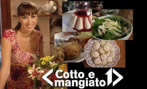 """Foto di Benedetta Parodi nel suo programma """"Cotto e mangiato"""""""