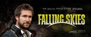 falling skies con Noah Wile su Fox 2011