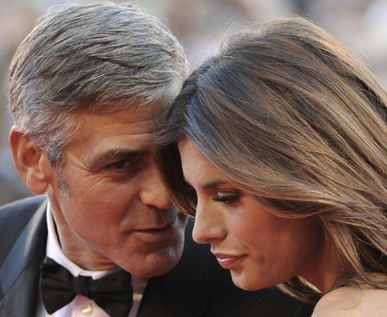 George Clooney e Elisabetta Canalis Foto