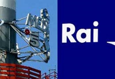 Mediaset e Rai Logo
