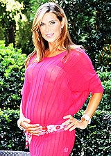 Foto di Veronica Maya incinta