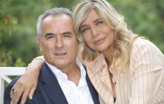 Mara Venier e Lamberto Sposini Foto