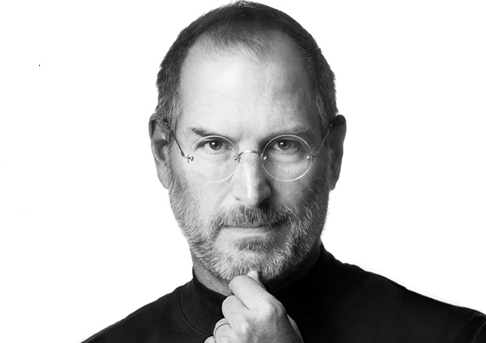 Foto di Steve Jobs home page Apple