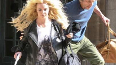 Britney prime immagini di Criminal Londra