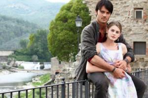 Vanessa Hessler e Giulio Berruti protagonisti della fiction La ragazza americana su Rai Uno