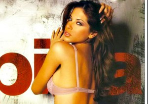 foto della showgirl venezuelana aida yespica