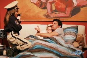 Emilio Solfrizzi e Antonia Liskova in Tutti pazzi per amore 3