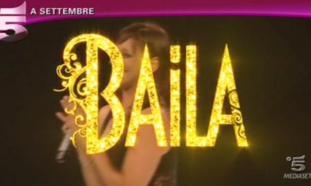 logo di baila su canale 5