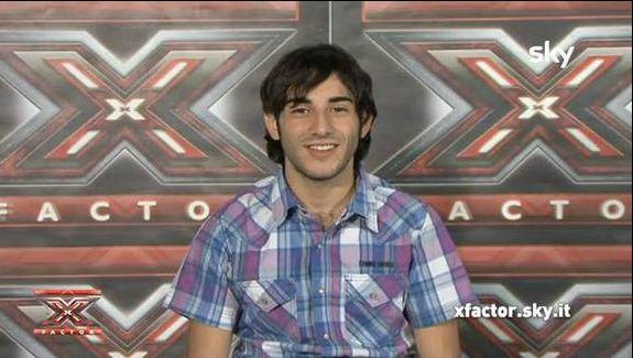 Valerio De Rosa a X Factor 5