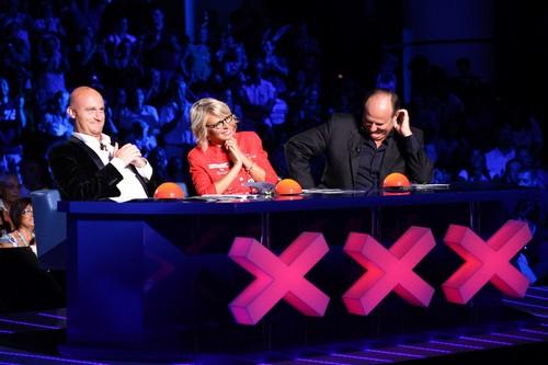 I tre giudici di Italia's Got Talent