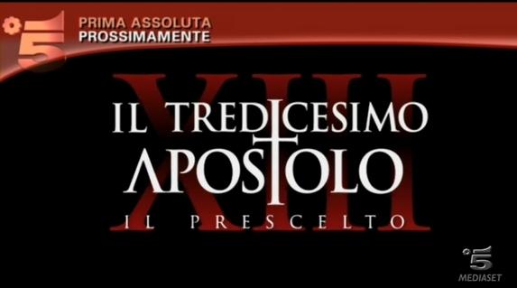 Claudio Gioè protagonista de Il tredicesimo apostolo