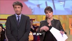 Milo Infante e Lorena Bianchetti Italia Sul Due Rai2 Foto