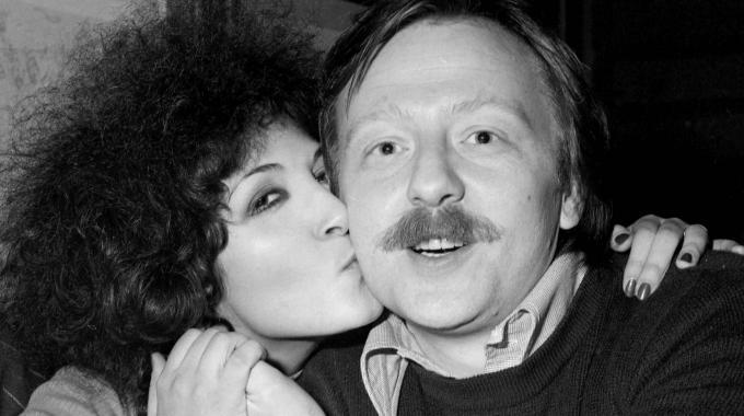Il compositore Giancarlo bigazzi insieme alla cantante Marcella Bella