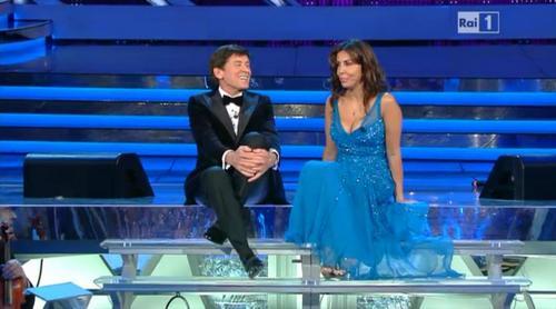 Sabrina Ferilli Sanremo 2012