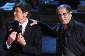 Morandi e Celentano nella serata conclusiva del Festival 2012