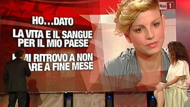 Emma Marrone Festival di Sanremo 2012