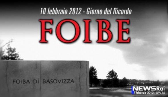 Foto del documentario sulle Foibe a Tv7