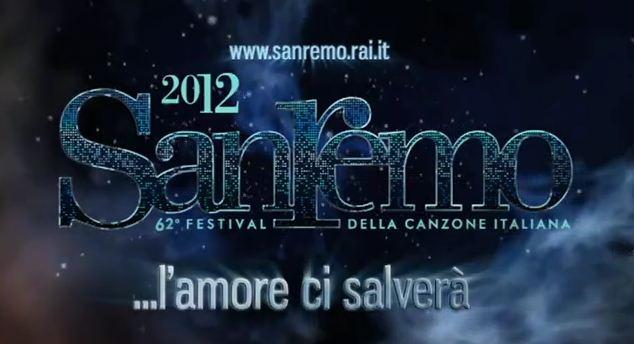 locandina del festival di sanremo 2012
