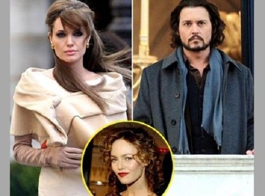 Johnny Depp ha tradito Vanessa Paradis con la Jolie