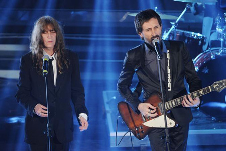 Patty Smith duetta coi Marlene Kuntz a Sanremo 2012