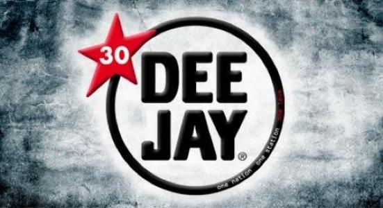 Il logo di Radio Deejay