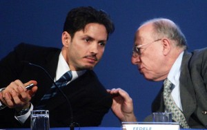 Berlusconi e Confalonieri sul futuro di Mediaset