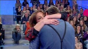 Teresanna Pugliese fa emozionare Francesco Monte
