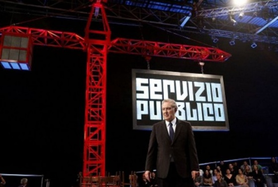 Santoro ed il talk show alternativo